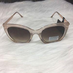 Jones New York Womens Rose Gold Sunglasses New